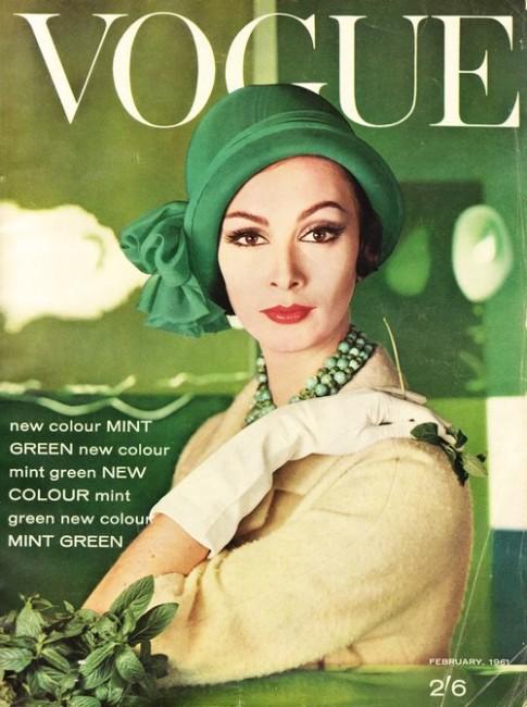 Trang bìa Vogue những năm 1960