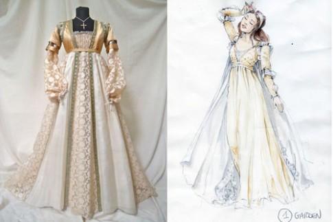 Trang phục đính pha lê cầu kỳ của Juliet bản mới (2)