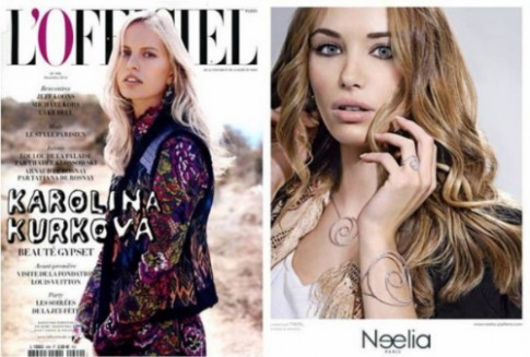 Trang sức của Neelia 'hút' các sao