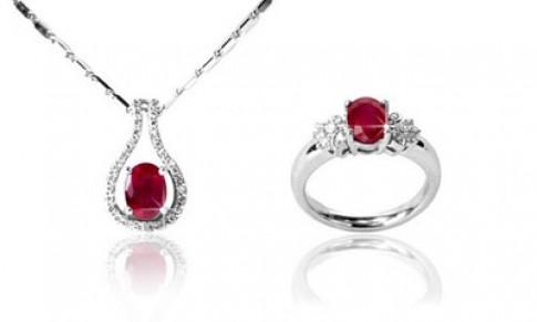 Trang sức ruby dành tặng phái đẹp