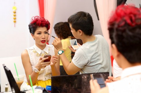 Trang Trần thích phong cách trang điểm quyến rũ