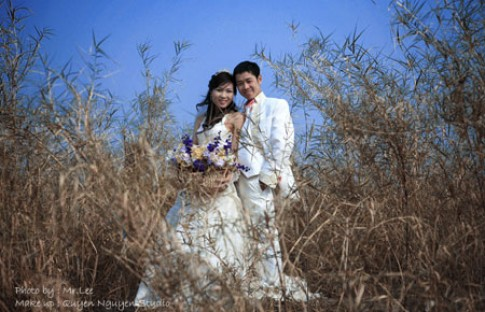 Trao giải cuộc thi ảnh cưới online