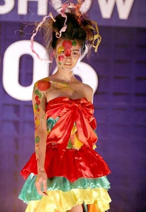 Trình diễn thời trang tóc thu 2006