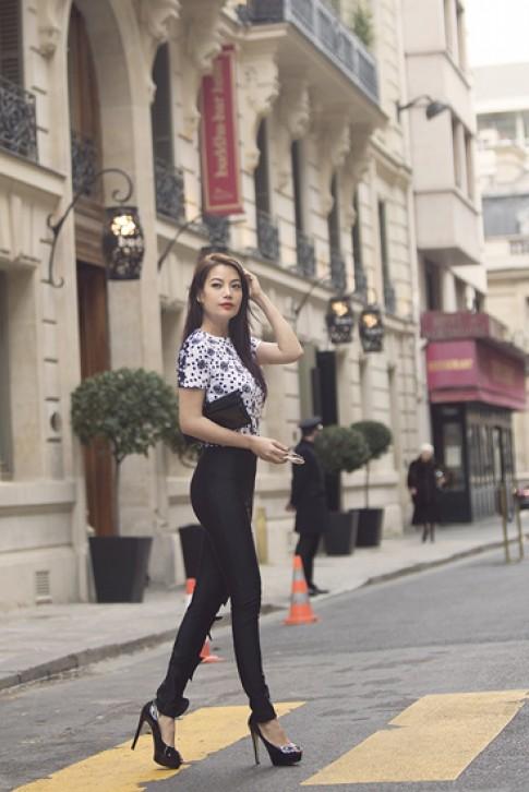 Trương Ngọc Ánh sành điệu ở Paris