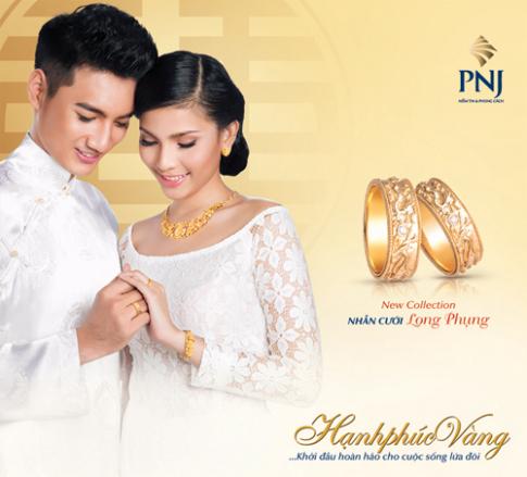 Trương Thị May cuốn hút trong trang sức cưới PNJ