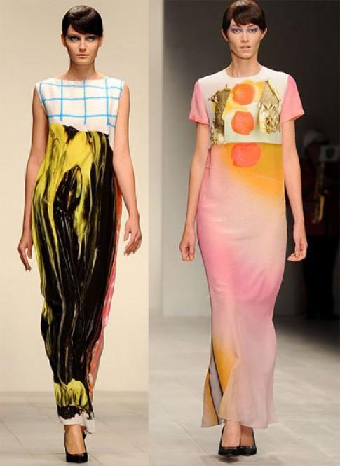 Tuần lễ thời trang London 2013 rực rỡ sắc màu