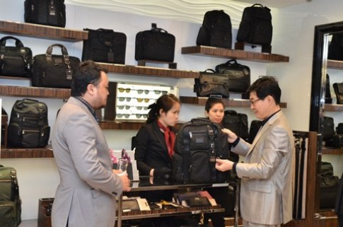 Tumi có điểm mua sắm thứ 4 ở Hà Nội