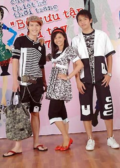 Tuổi teen thi thiết kế thời trang