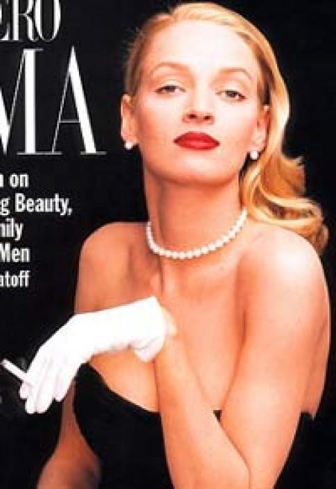 Uma Thurman - gương mặt mới của Louis Vuitton