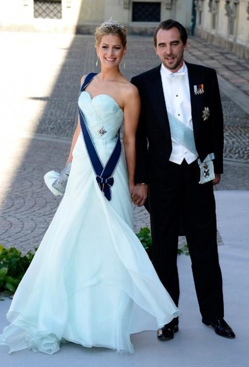 Váy áo các công chúa tại đám cưới Hoàng gia Thụy Điển