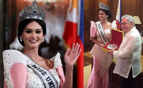 Váy áo của Hoa hậu Hoàn vũ 2015 ở Philippines