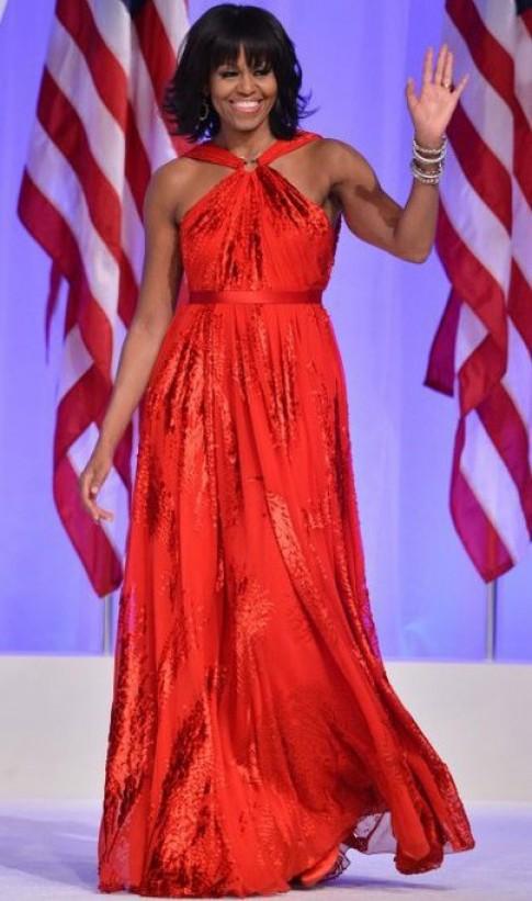 Váy của Đệ nhất phu nhân Mỹ đẹp nhất tuần