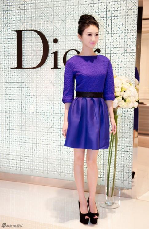 Váy trang nhã của Cảnh Điềm