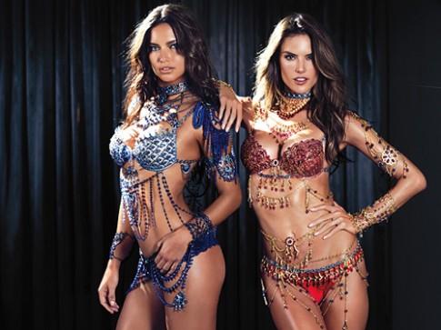 Victoria's Secret hé lộ bộ đôi nội y kim cương 4 triệu USD