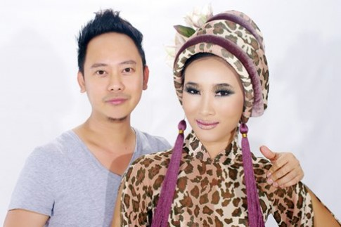 Võ Việt Chung đưa thời trang phong cách 'Avatar' đến Anh