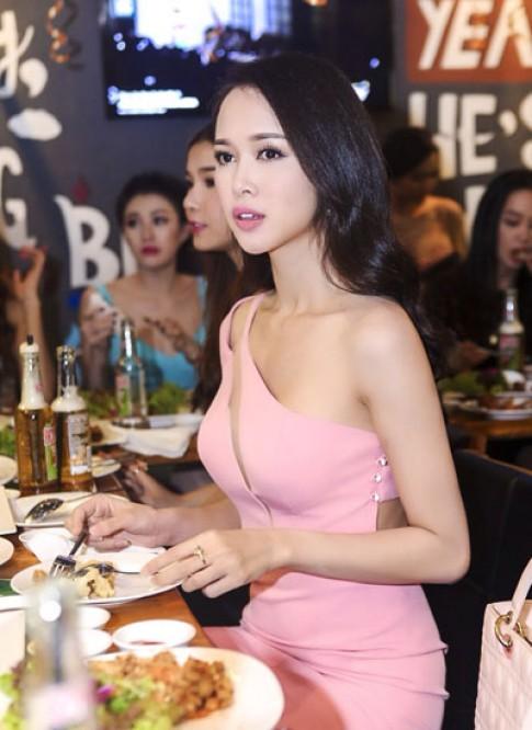 Vũ Ngọc Anh, Linh Chi thích váy tôn vòng một