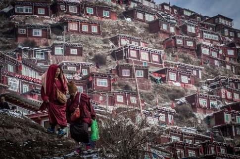 Vùng đất thiêng tập trung 40.000 nhà sư