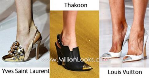 Xu hướng giày dép xuân - hè 2012