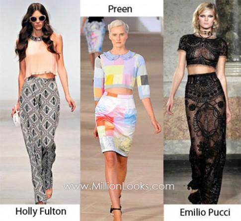 Xu hướng trang phục nữ xuân hè 2012
