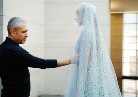 Xưởng may Haute Couture của Elie Saab tại Beirut