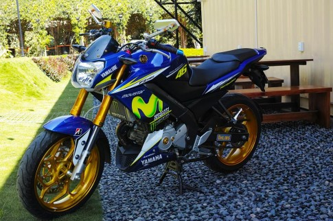 Yamaha FZ150i độ chất chơi cùng phiên bản Movistar
