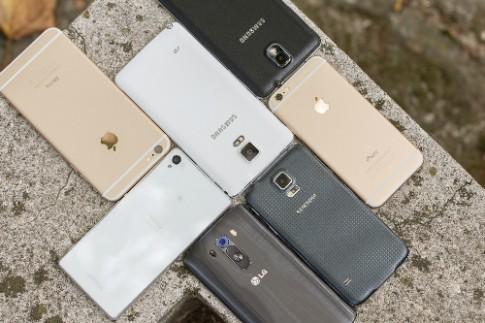 10 smartphone bán tốt nhất tháng 1/2015