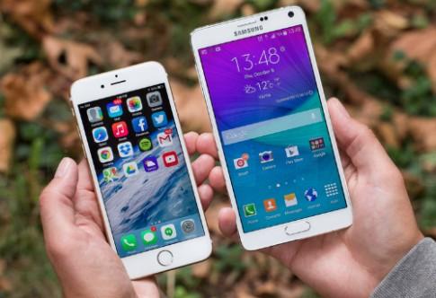 10 smartphone bán tốt nhất tháng 12/2014