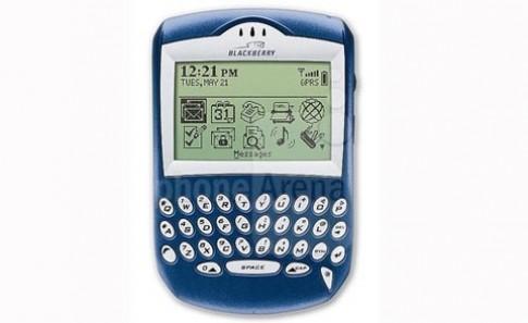 10 smartphone đáng nhớ của RIM