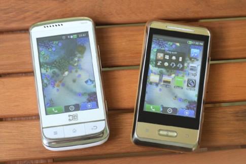 2 điện thoại 3D không kính giá rẻ so dáng