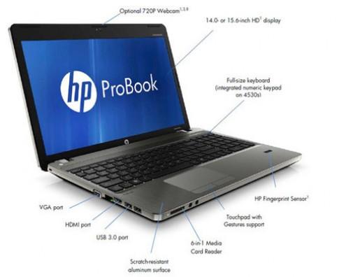 20 ưu điểm của laptop HP ProBook 4x30s