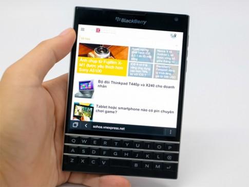 200.000 BlackBerry Passport được bán trong 2 ngày