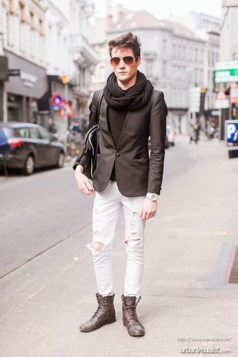 3 bí quyết phối quần trouser và blazer