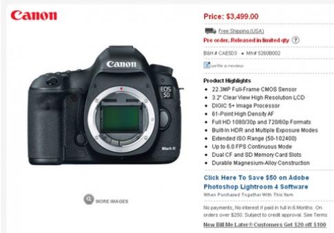 3 máy ảnh khủng cùng bán tháng này