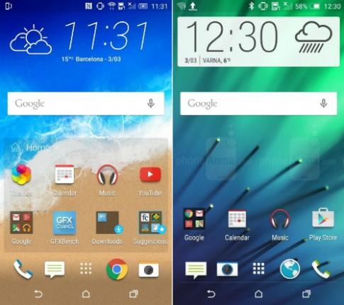 5 cải tiến trên giao diện HTC One M9