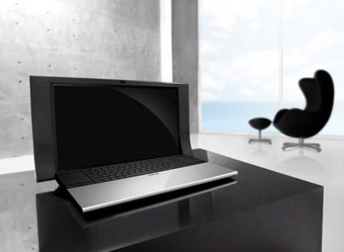 5 laptop thiết kế hấp dẫn nhất năm 2010