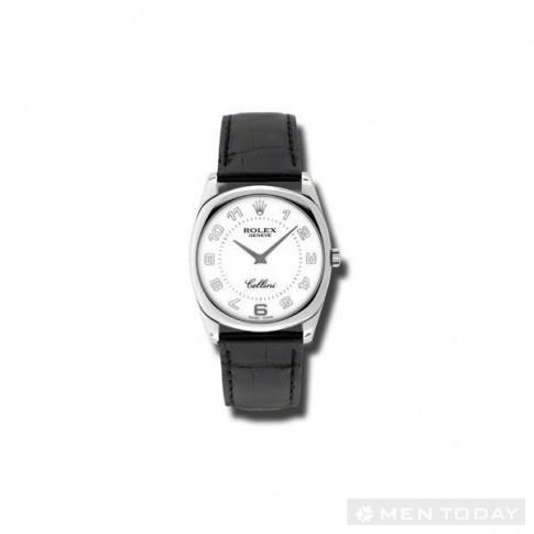 6 mẫu đồng hồ đen trắng đơn giản cho nam giới