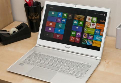 Acer Aspire S7 - laptop có thiết kế đột phá nhất 2015