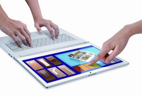 Acer dẫn đầu xu hướng màn hình chạm