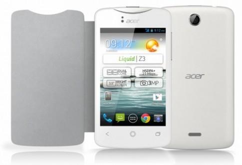 Acer giới thiệu smartphone 'phù hợp với người từ 7 tới 70 tuổi'