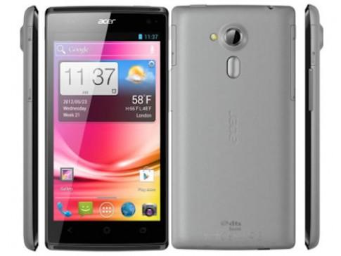 Acer ra điện thoại Liquid Z5, màn hình 5 inch giá rẻ