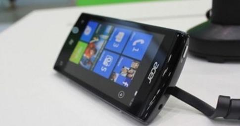 Acer ra điện thoại Windows Phone Mango dùng chip 1GHz