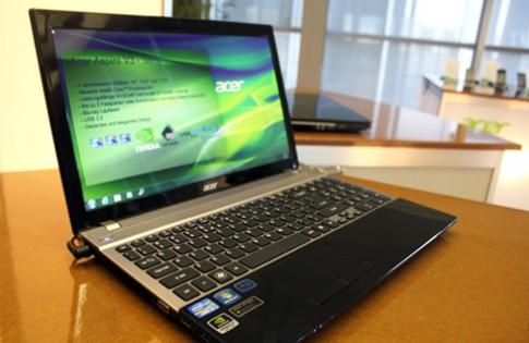 Acer ra laptop V3 và V5 nhiều kích thước