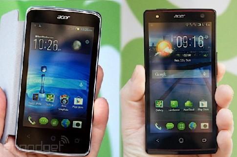 Acer ra mắt bộ đôi smartphone tầm trung mới