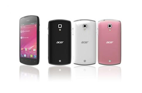 Acer ra mắt smartphone Liquid Glow với 3 lựa chọn màu
