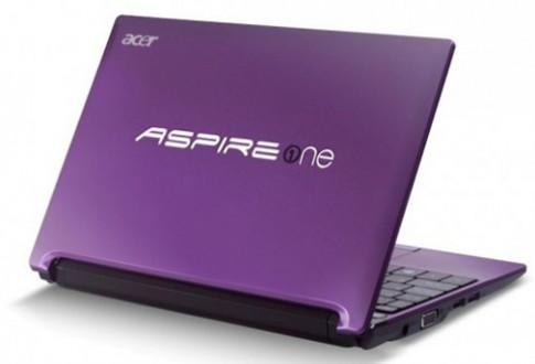 Acer ra netbook dùng chip Atom Cedar Trail