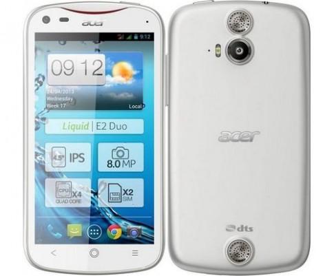 Acer ra smartphone Android 4 nhân giá 6 triệu đồng
