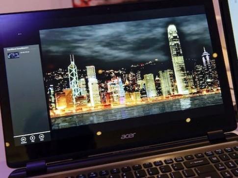 Acer sắp có ultrabook màn hình Retina