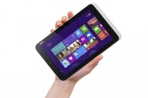 Acer sắp ra tablet Windows 8 cỡ nhỏ với pin 8 tiếng