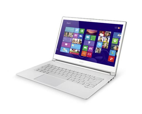 Acer tập trung vào dòng laptop 'chạm'