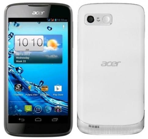Acer tiết lộ bộ đôi Android 4.0 sắp bán